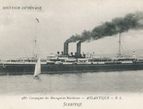 Atlantique Bordeaux breve storia della nave